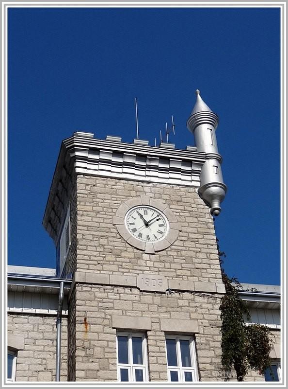 Clock in Baie St-Paul