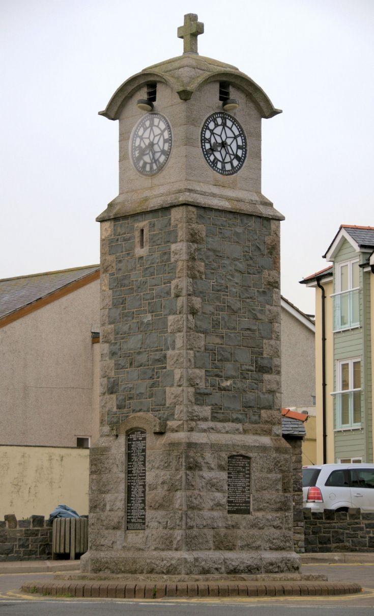 War Memorial Clock, Rhosneigr