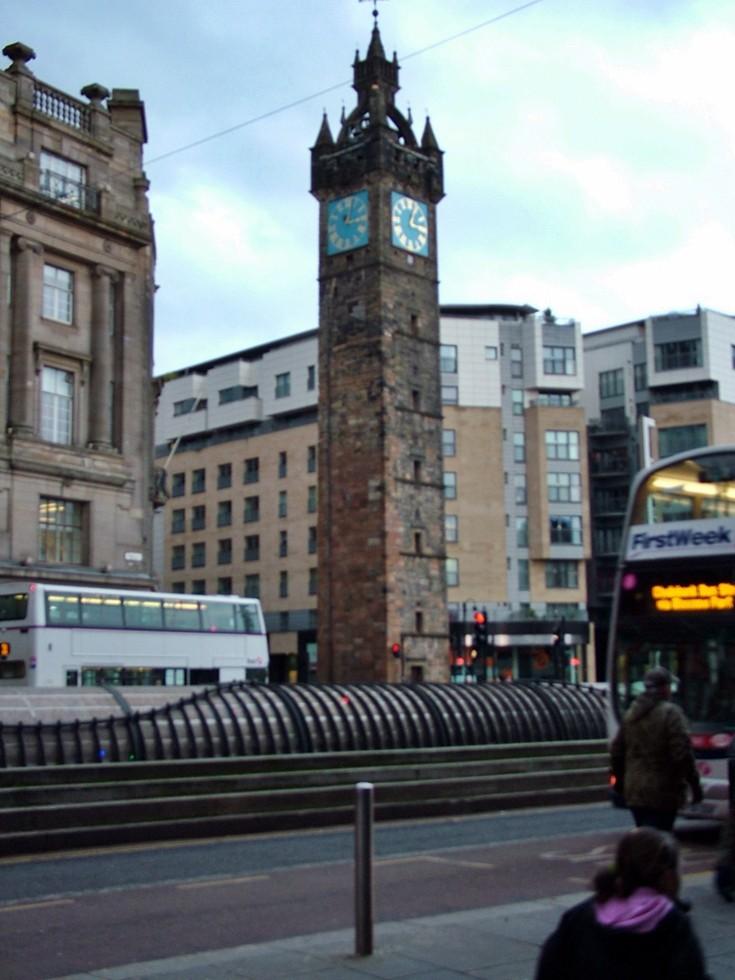 Glasgow City Center - Cross Clock