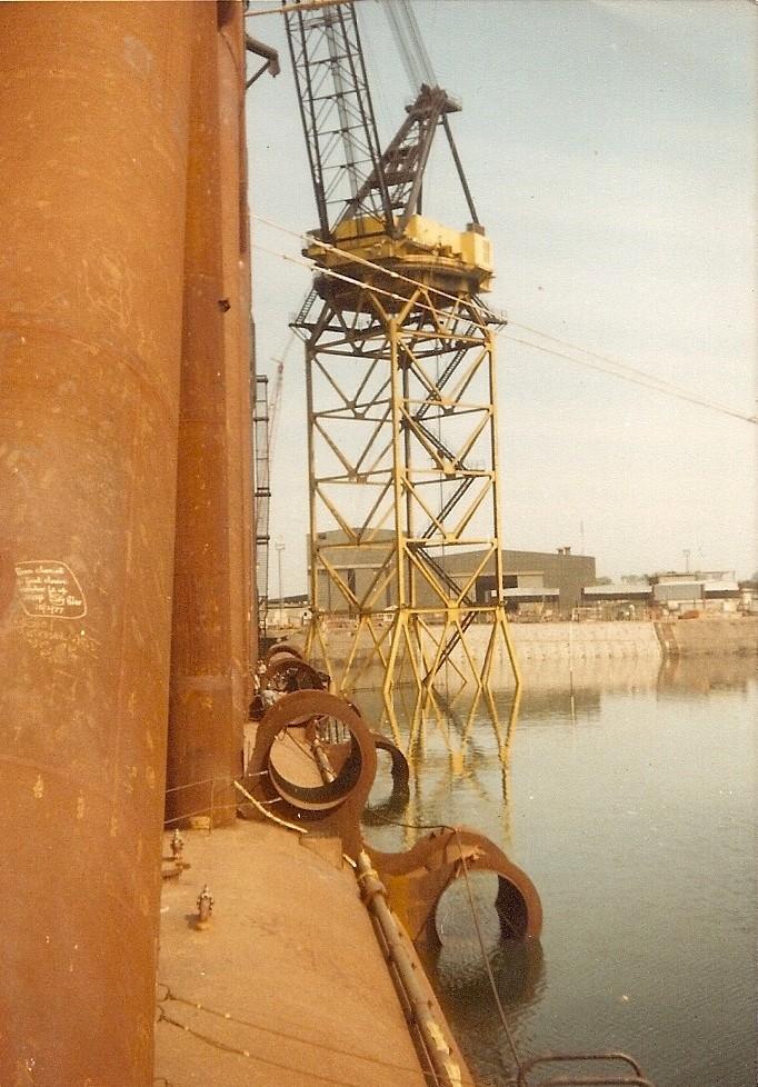Nininan Southern and Little wolf Nigg dock