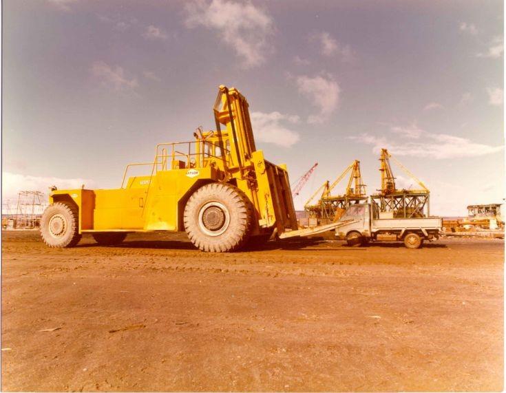 Taylor Forklift - Ardersier Yard (60 tonne)
