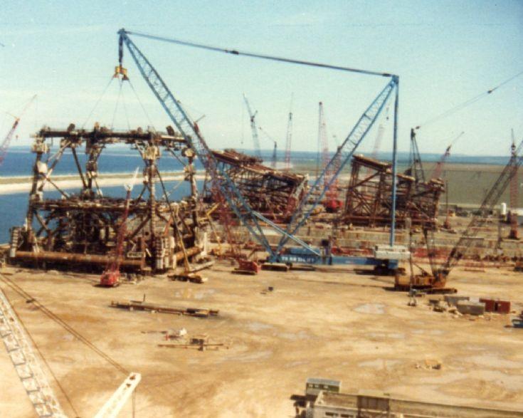 Lampson crane, Ardersier c1998