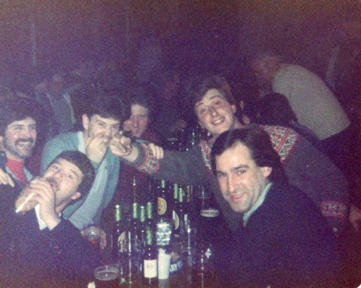 In the Wellie Bar, Kishorn