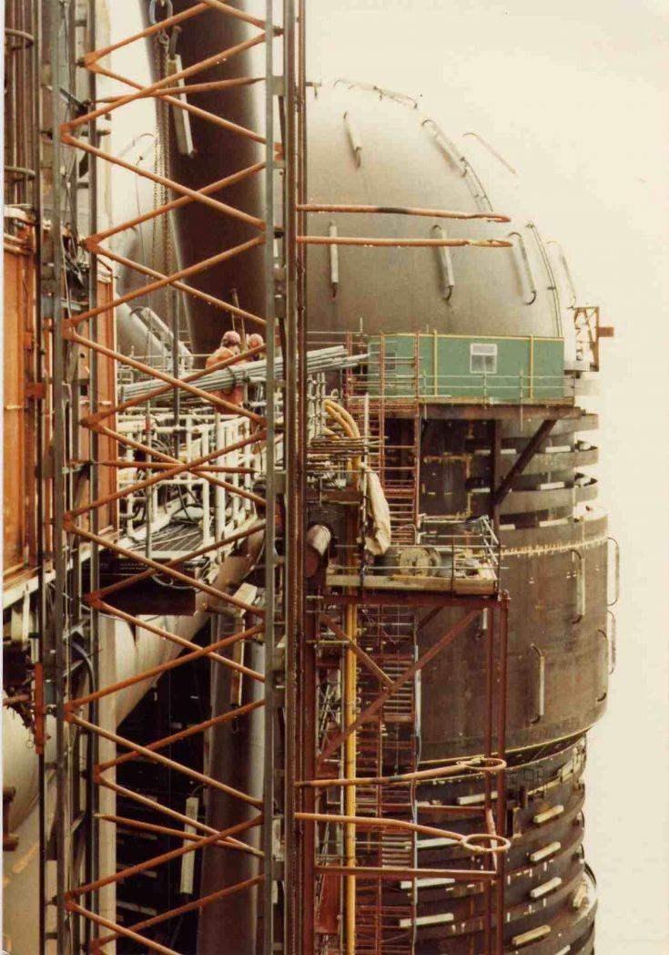 ballast tank maureen jacket