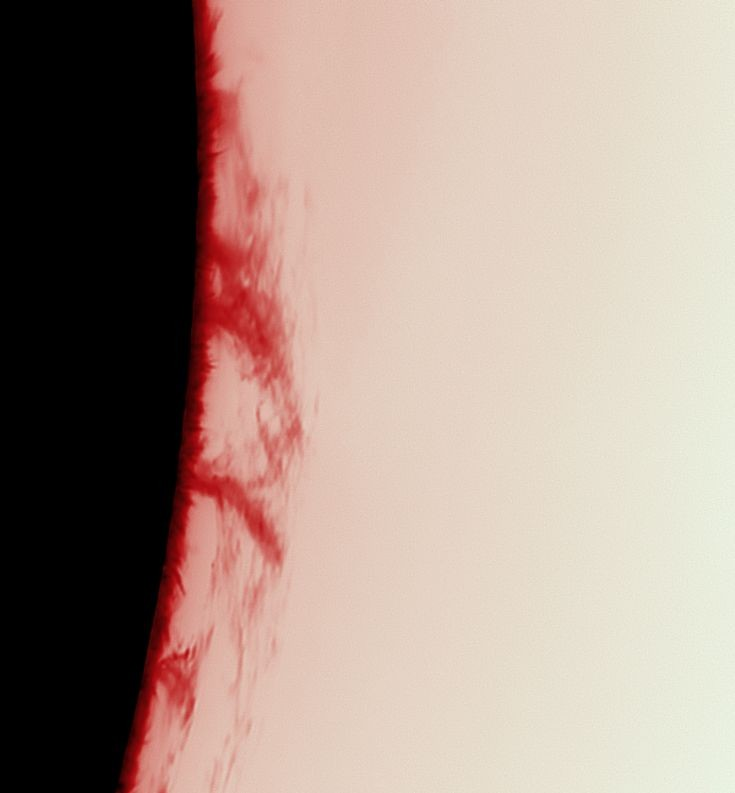 Solar prominence's on 19th June