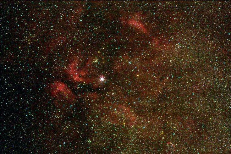 Gamma Cyg and associated nebulae