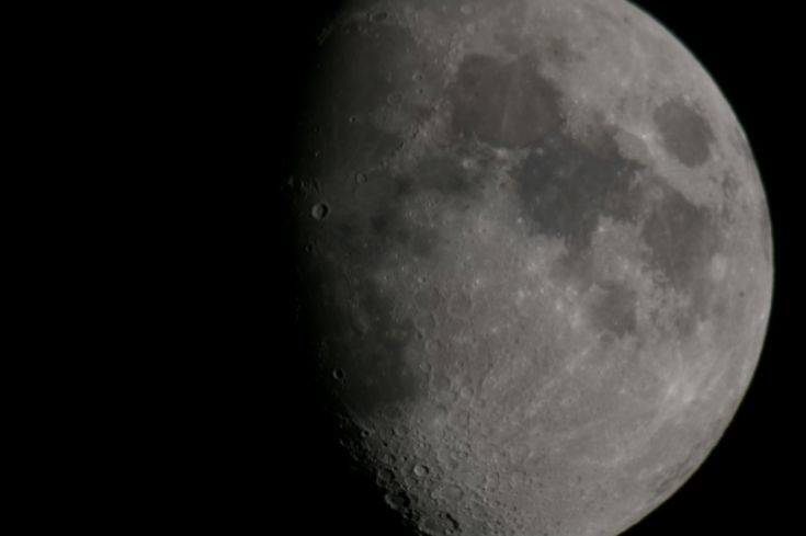 My first moon pic