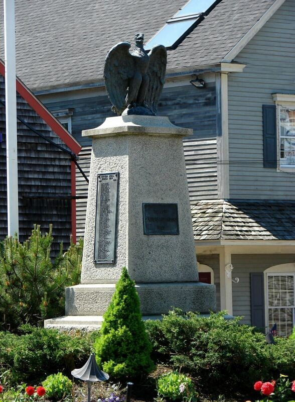 Monument in Kennebunkport, Maine