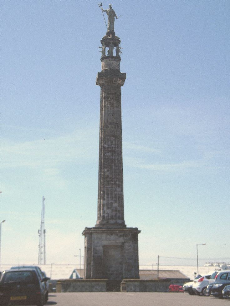 Nelsons column      Gt.Yarmouth    20/6/12