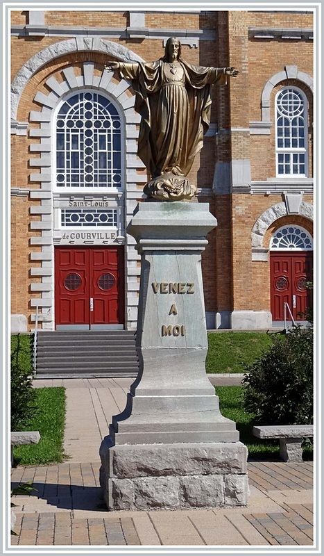 The Sacred Heart Statue