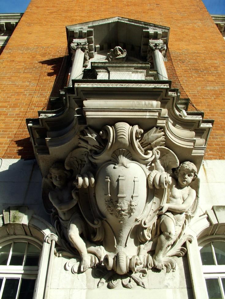 Woolwich Town Hall Clocktower detail