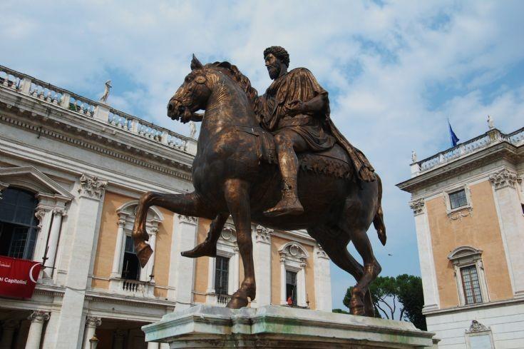 Statue of Marco Aurelio