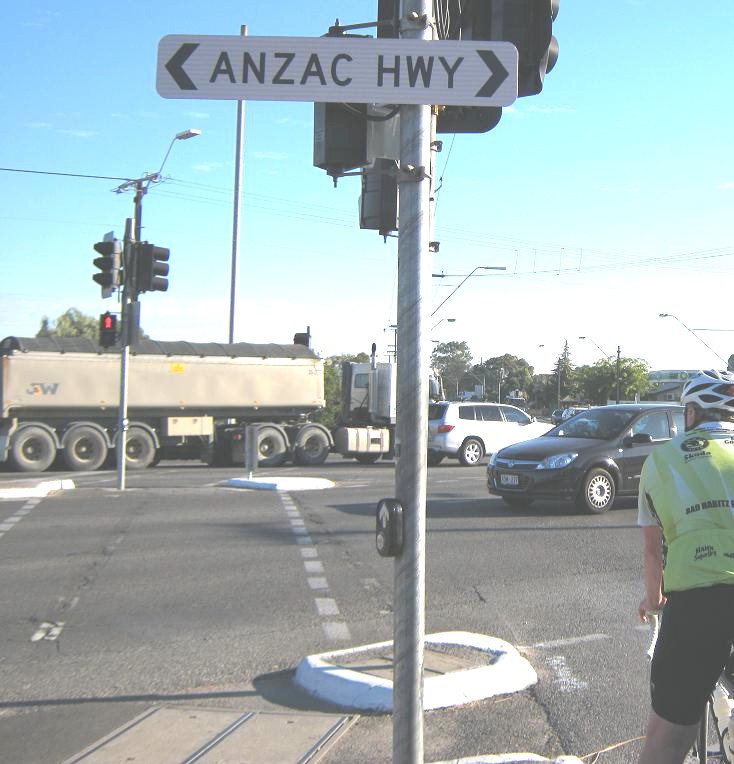 ANZAC Highway Adelaide Australia