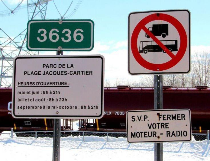 Park Jacques-Cartier entrance