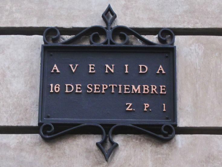 16 de Septiembre Avenue