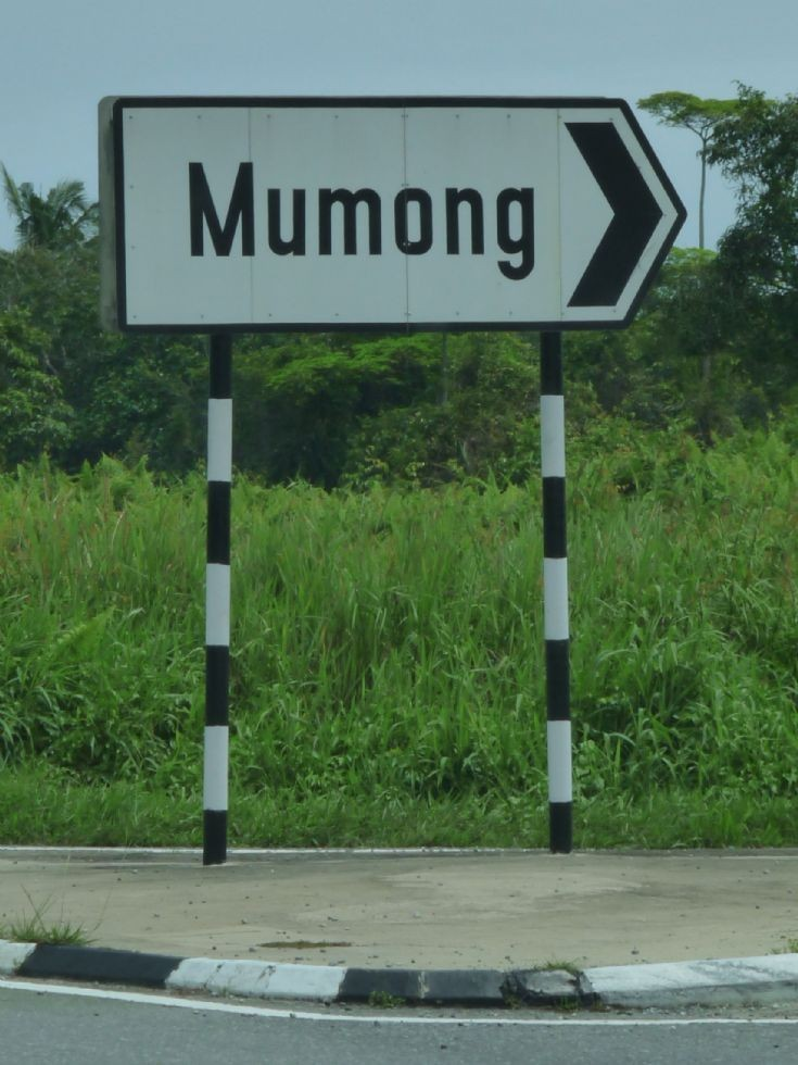 Turn right to Mumong