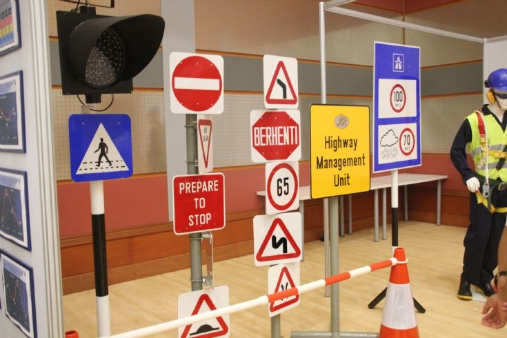 Road signs replicas