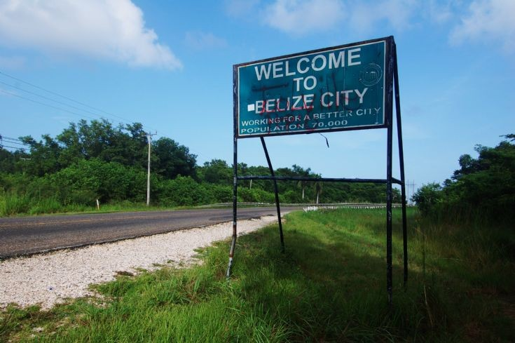 Welcome to Belize city