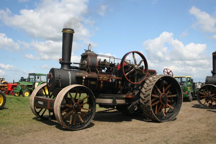 1918 Fowler BB ploughing engine