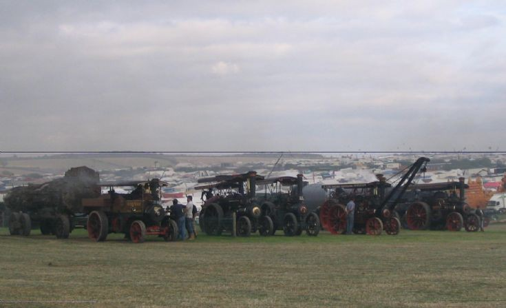 Engines at Great Dorset 2008