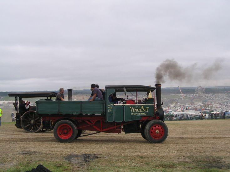 Foden 6 ton Steam Wagon