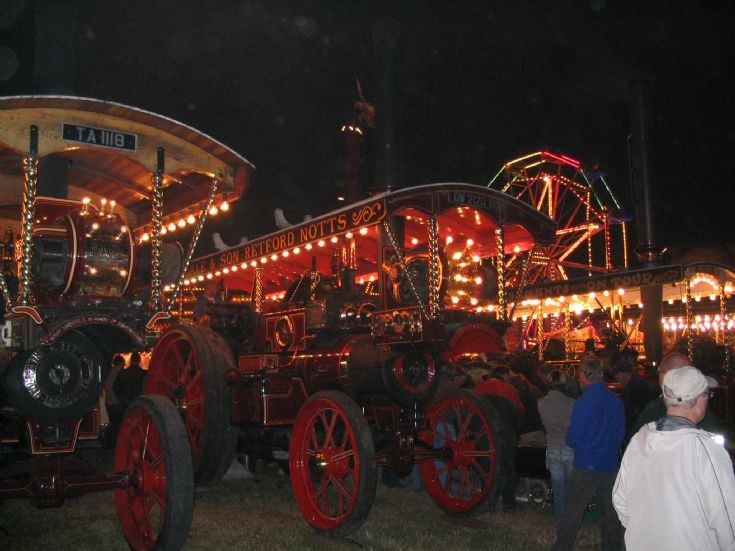 Great Dorset Fairground line up 2008