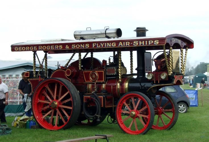 Garrett Showmans Locomotive