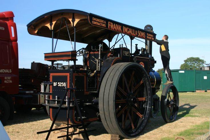 McLaren Road Locomotive 1110.