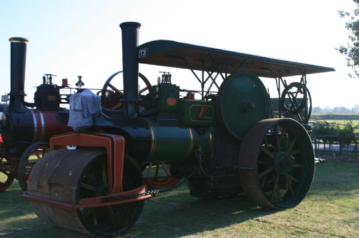 Photo of the Aveling & Porter 'Athena'