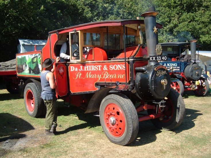 Foden Logging Tractor