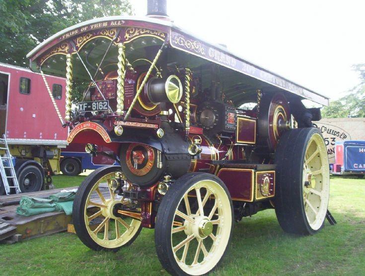 Burrell Showmans locomotive