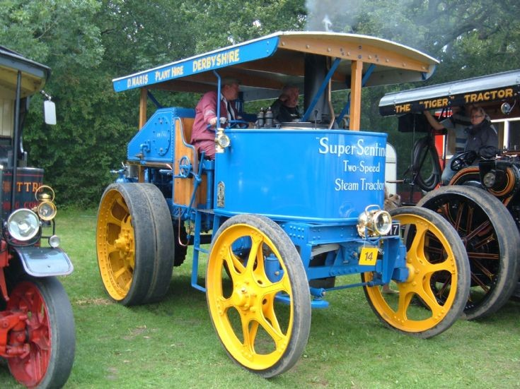 Super Sentinel Two-Speed Steam Tractor