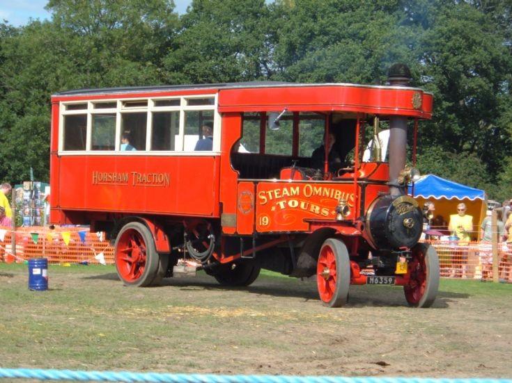 1921 Foden Steam Omnibus