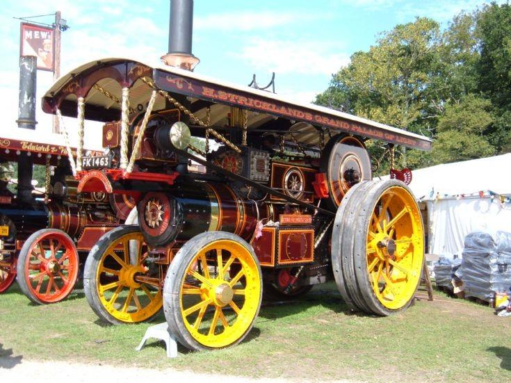Burrell Locomotive 'Pride of Worcester'