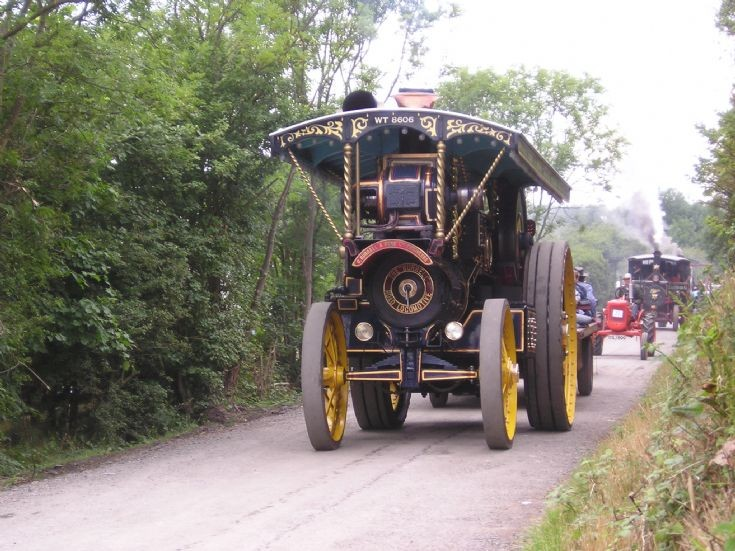 Burrell Showmans Road Loco Ex- Mayor