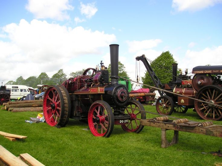 1920 Ruston & Hornsby Traction Engine