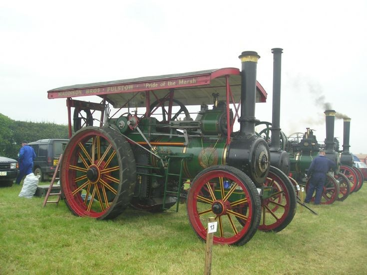1914 Ransomes Simms & Jefferies Traction Engine