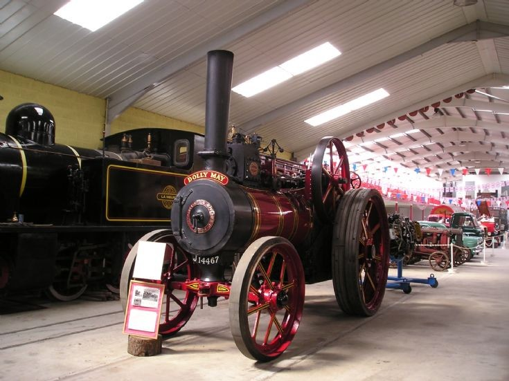 1904 Ransomes Simms & Jefferies traction engine