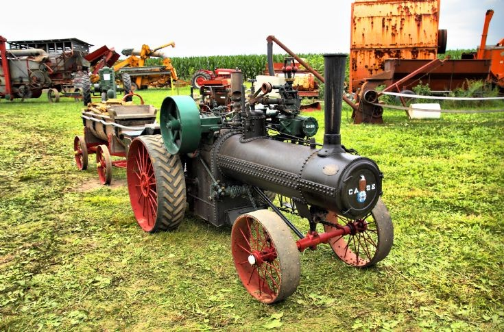 CASE at Illiana Steam Power Show