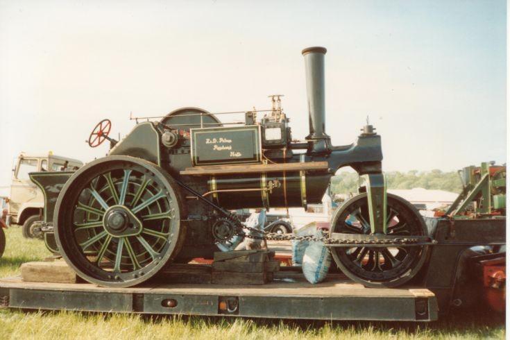 1915 Ruston Proctor roadroller
