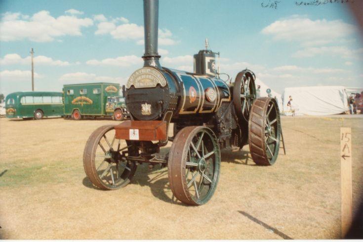 J & F Howard traction engine