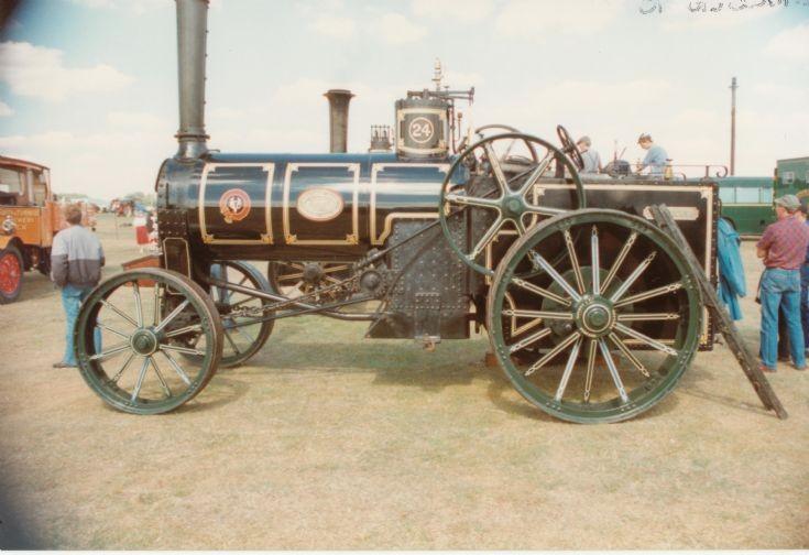 J & F Howard traction engine 'Britannia'