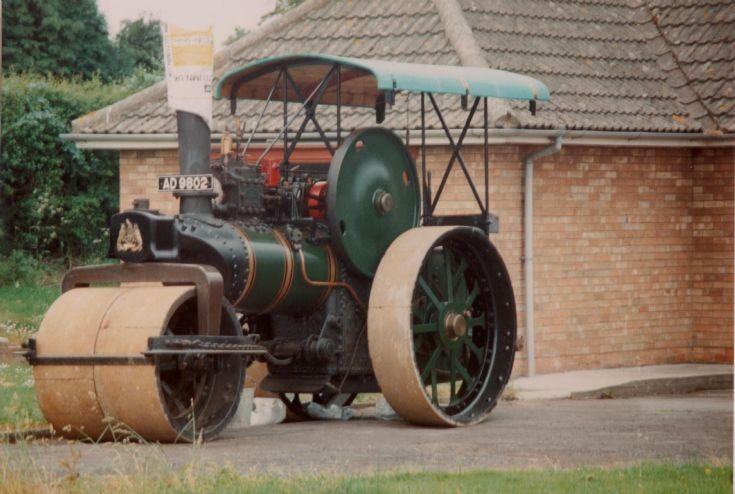 Fowler 10ton roller