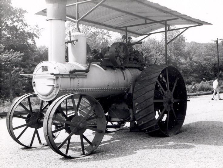 Engine seen at Steam Town