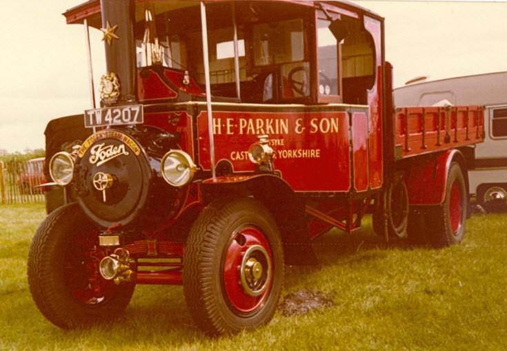 Foden Steam Wagon TW4207