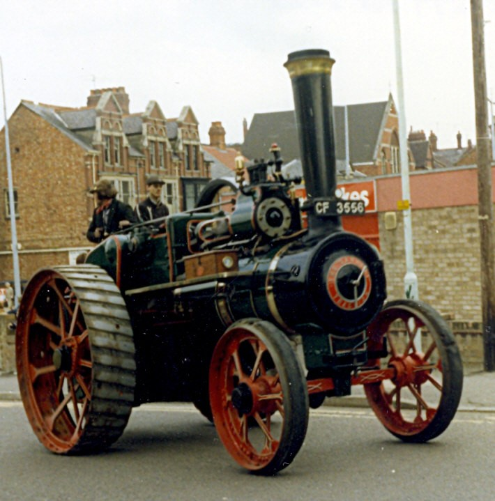 Garrett engine at Rushden