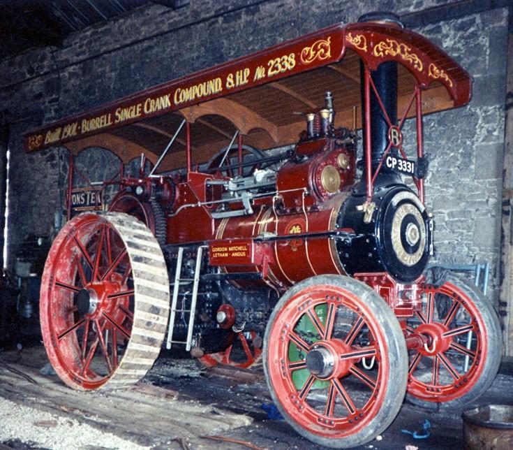 Burrel engine 'Brechin'