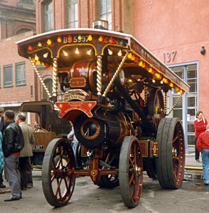 1920 Garrett Showmans Tractor