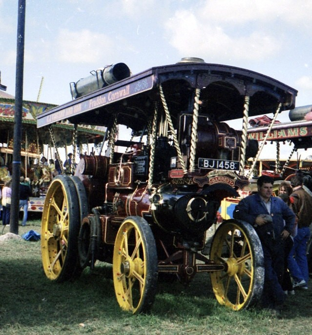 Showmans from Fraddon, Cornwall