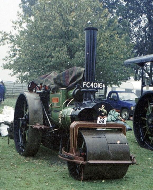 Aveling & Porter roller
